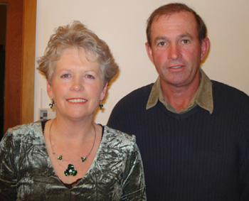 Lorraine and Ross Bayliss
